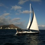 sailing Diamond Head