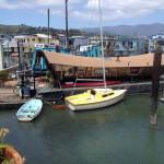 at dock