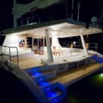 Sunreef 62 - At Deck at Night
