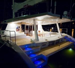 Sunreef 62 - At Deck at Night