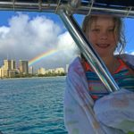 ad little girl rainbow waikiki
