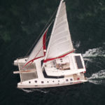 great air view sailing
