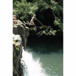 jumping Kipu falls