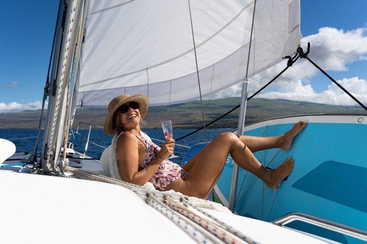 girl on deck